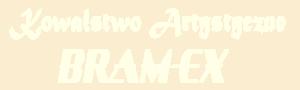 """Kowalstwo artystyczne """"Bram-Ex"""" - mobile logo firmy"""